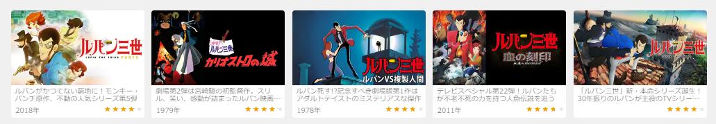 2019.11.22金曜ロードshowルパン三世vs名探偵コナン THE MOVIEUNEXT