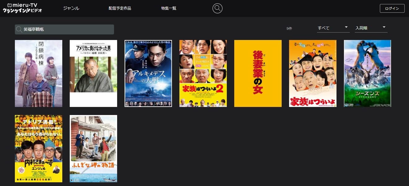 笑福亭鶴瓶mieruTV