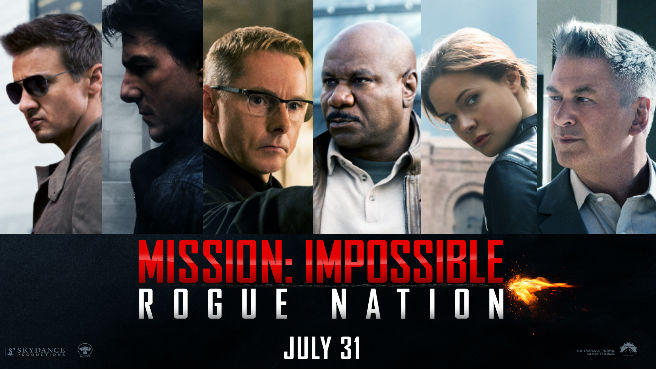ミッションインポッシブル ローグ・ネイション 土曜プレミアム 2020年5月9日タイトル